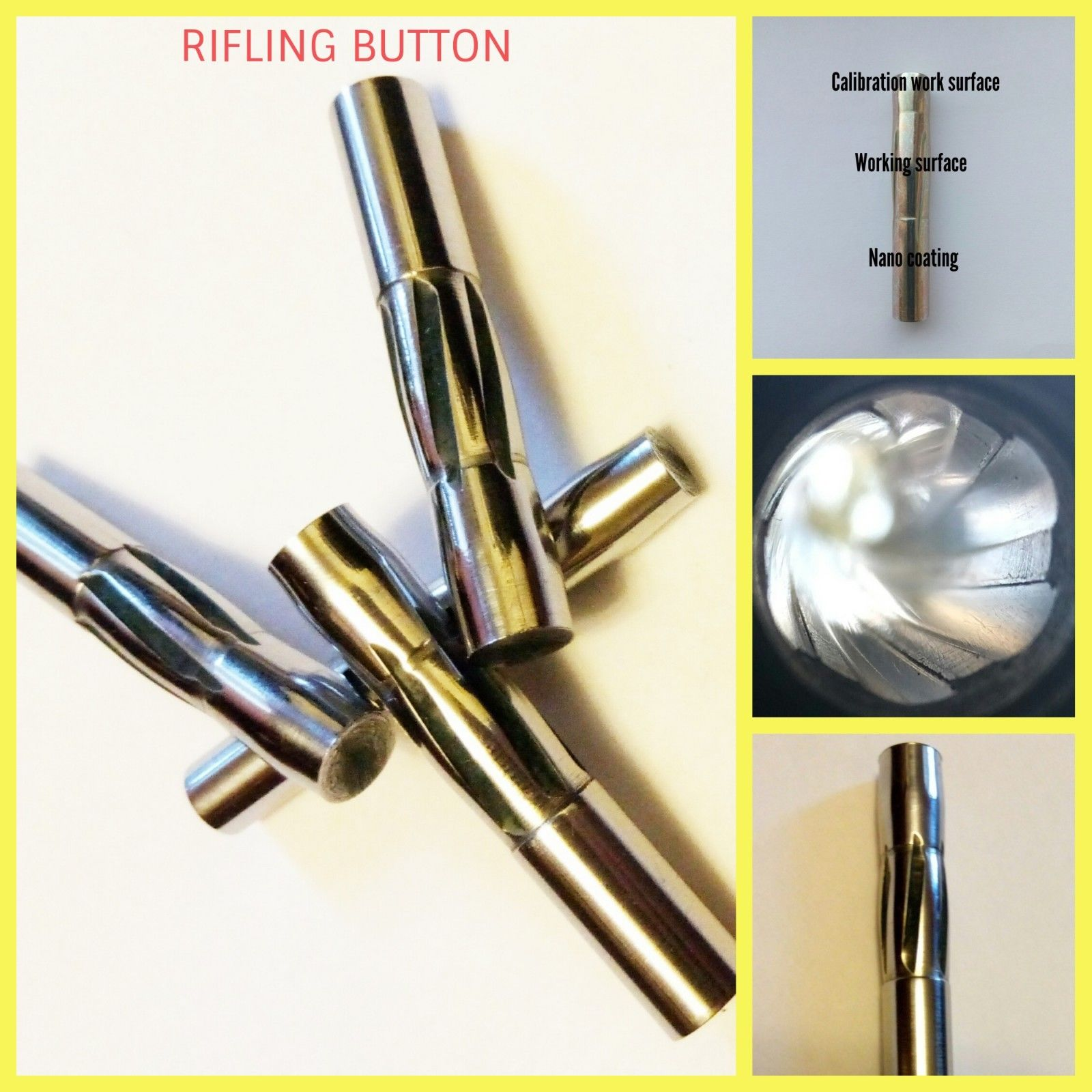 Rifling button combo 7.65x17 mm Browning
