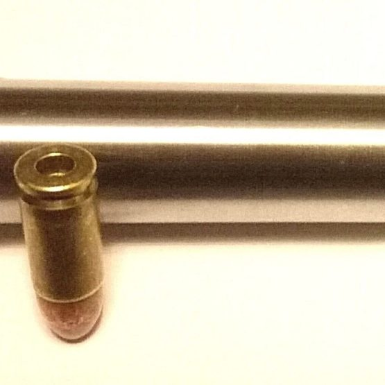 s l1600 10 555x555 - 12 Gauge to 9mm Luger Shotgun Barrel Adapter LONG Chamber Reducer