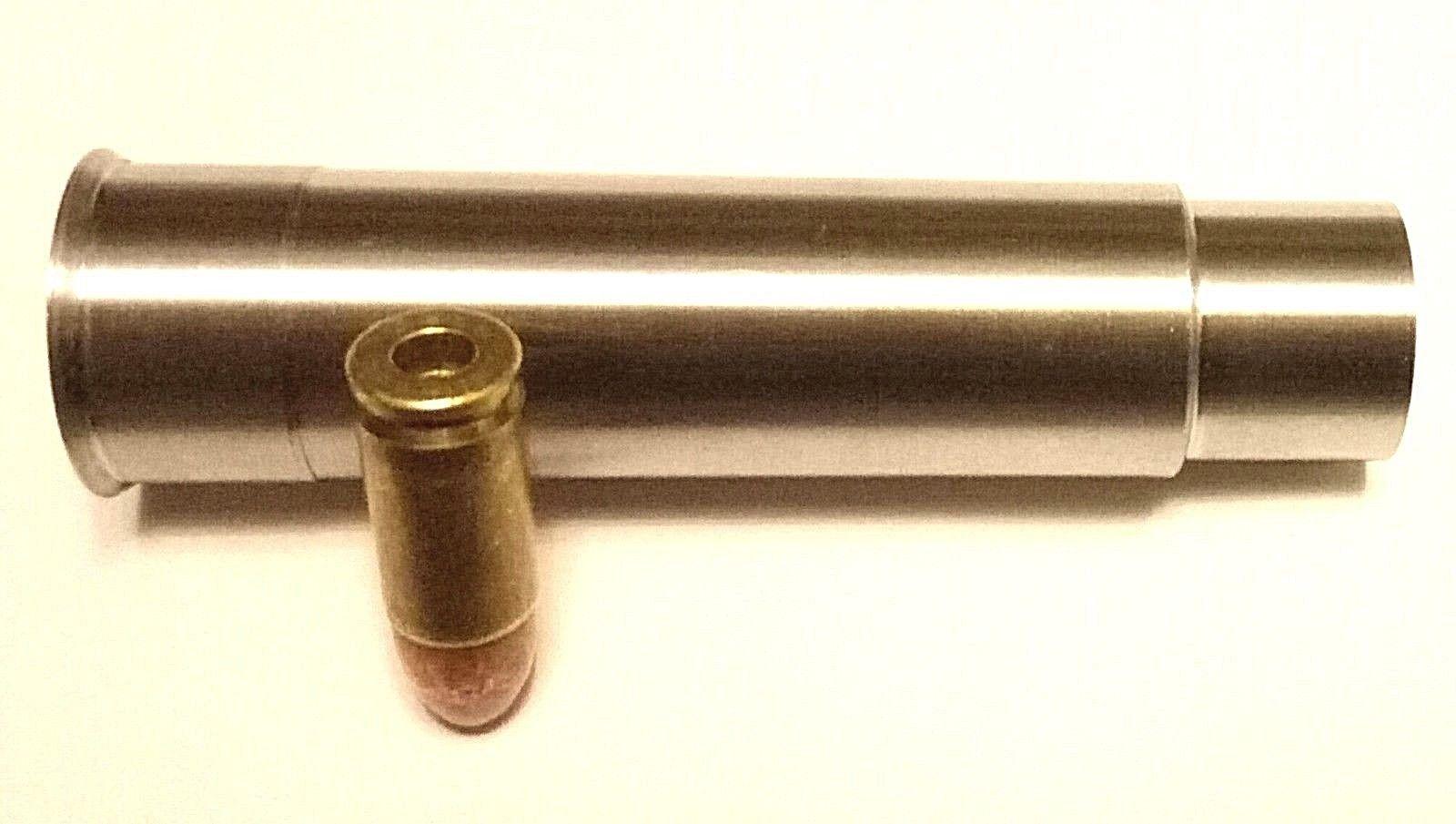 s l1600 10 - 12 Gauge to 9mm Luger Shotgun Barrel Adapter LONG Chamber Reducer